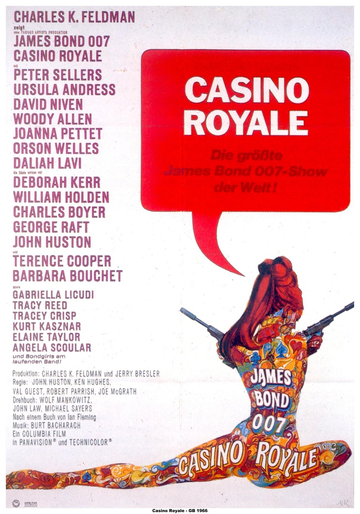 casino royale length