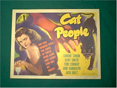 "poster for ""Cat People"""