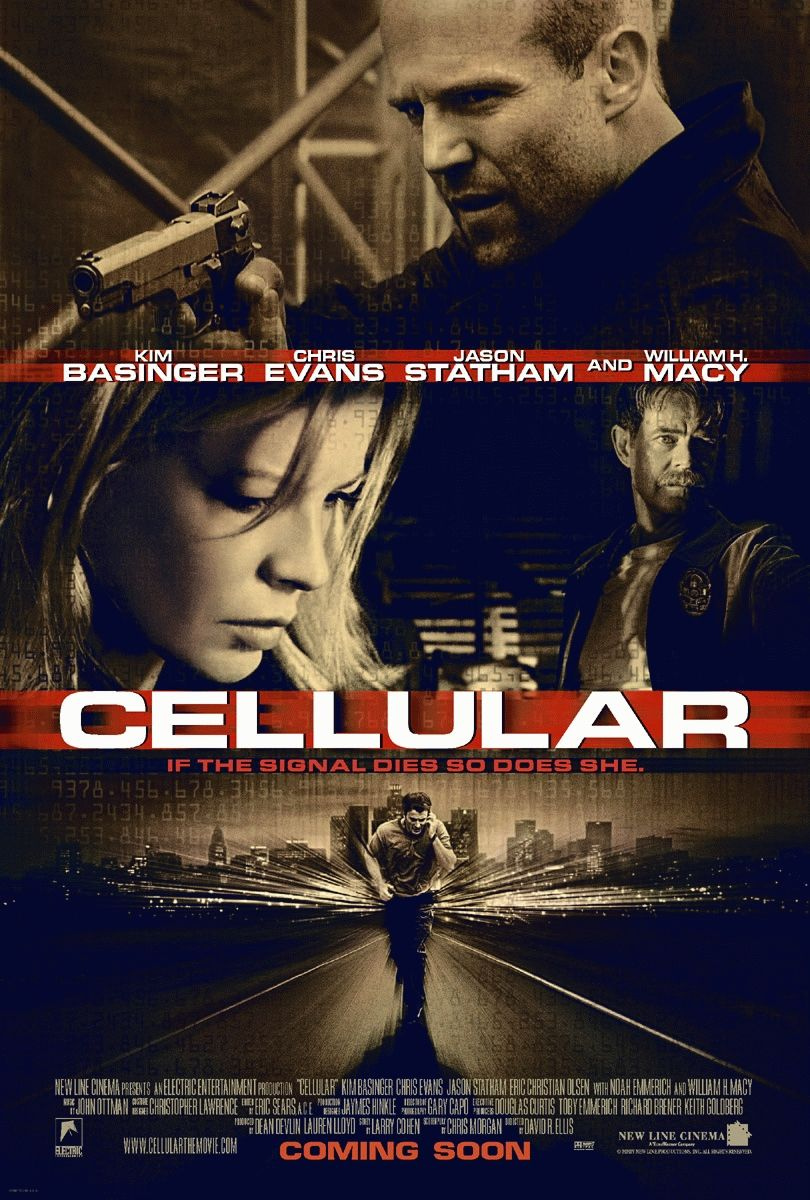 "poster for ""Cellular"" by David R. Ellis(2004)"