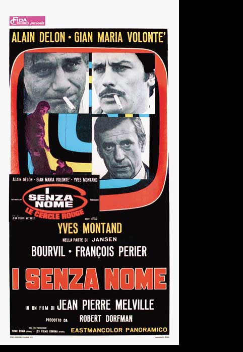 "poster for ""Cercle Rouge, Le"""