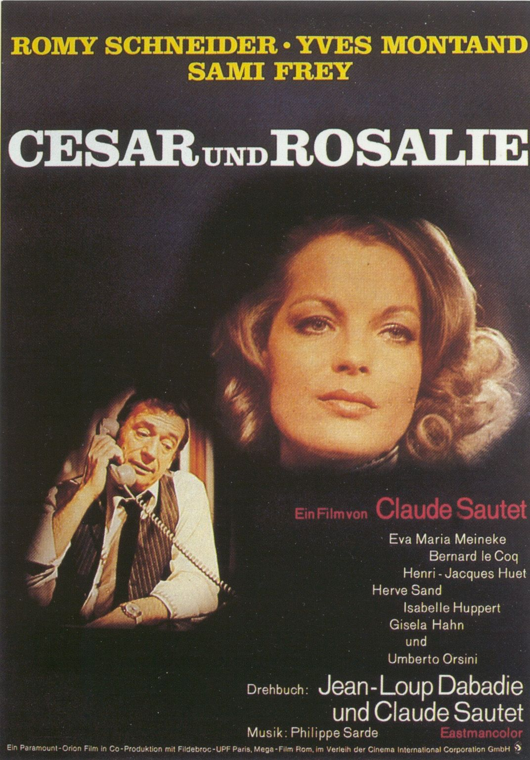 Movie Posters.2038.net  Posters for movieid-934: Csar et Rosalie ...