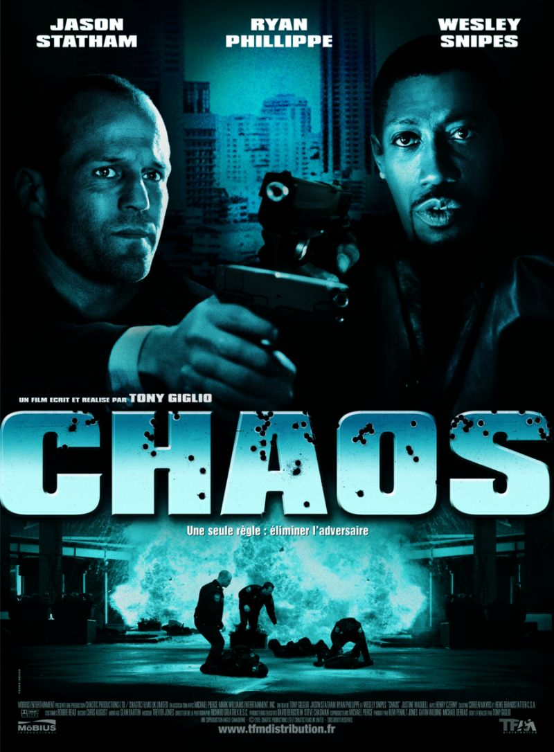 "poster for ""Chaos"" by Tony Giglio (2005)"