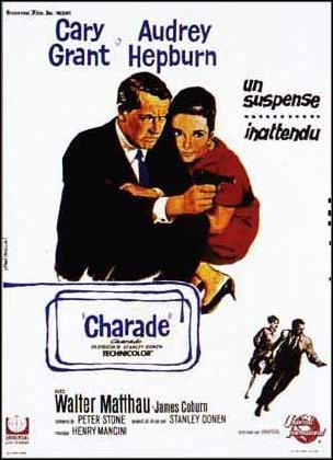 "poster for ""Charade&quot"