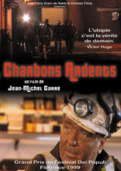"poster for ""Charbons Ardents (The Story Of Tower Colliery)"" by Jean-Michel Carr� (2000)"