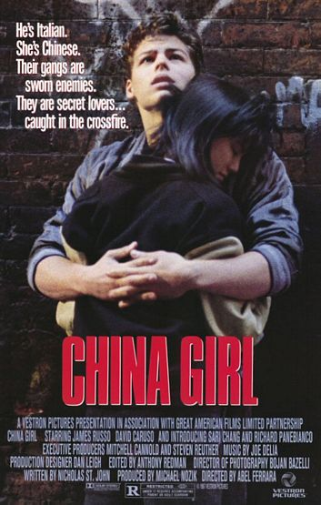 "poster for ""China Girl"" by Abel Ferrara(1987)"
