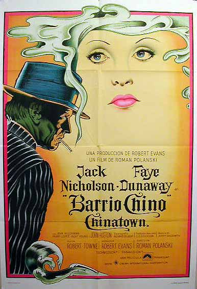 "poster for ""Chinatown"""