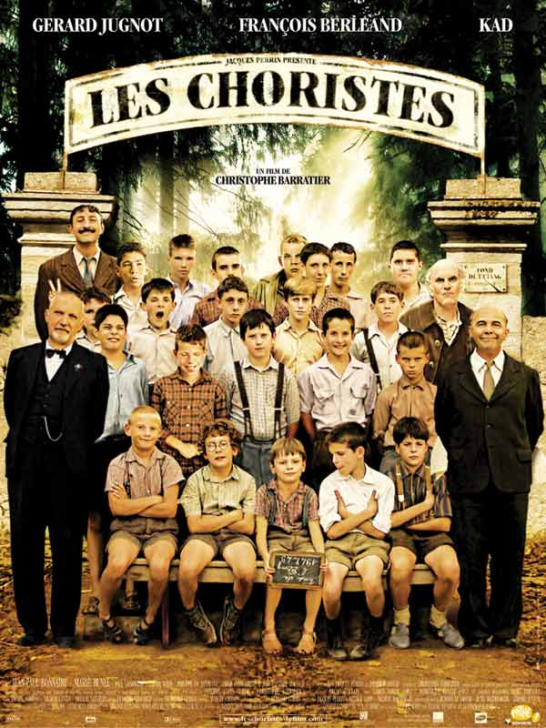 "poster for ""Choristes, Les"" by Christophe Barratier(2004)"