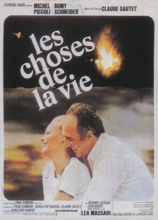 "poster for ""Choses de la Vie, Les"" by Claude Sautet (1969)"