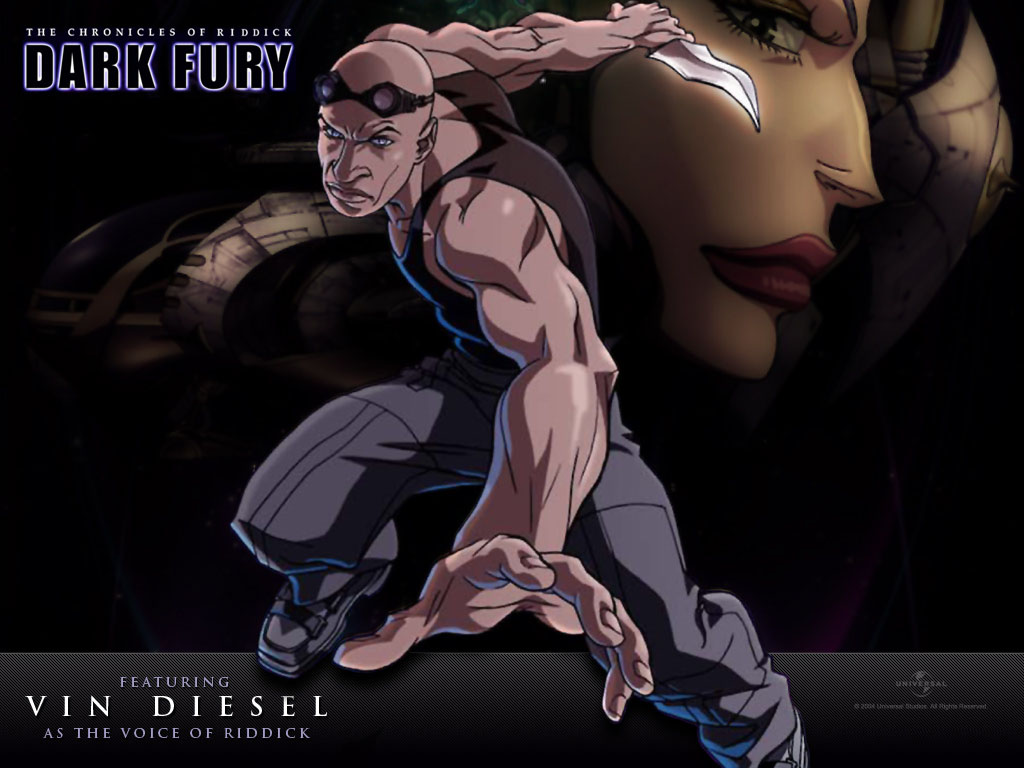 "poster for ""Chronicles of Riddick, The: Dark Fury"""