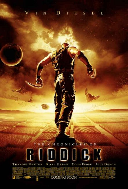 "poster for ""Chronicles of Riddick, The&quot"