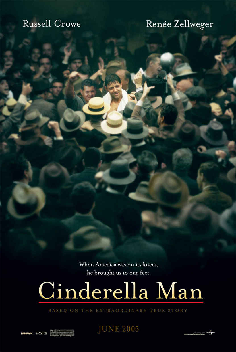 "poster for ""Cinderella Man"" by Ron Howard(2005)"