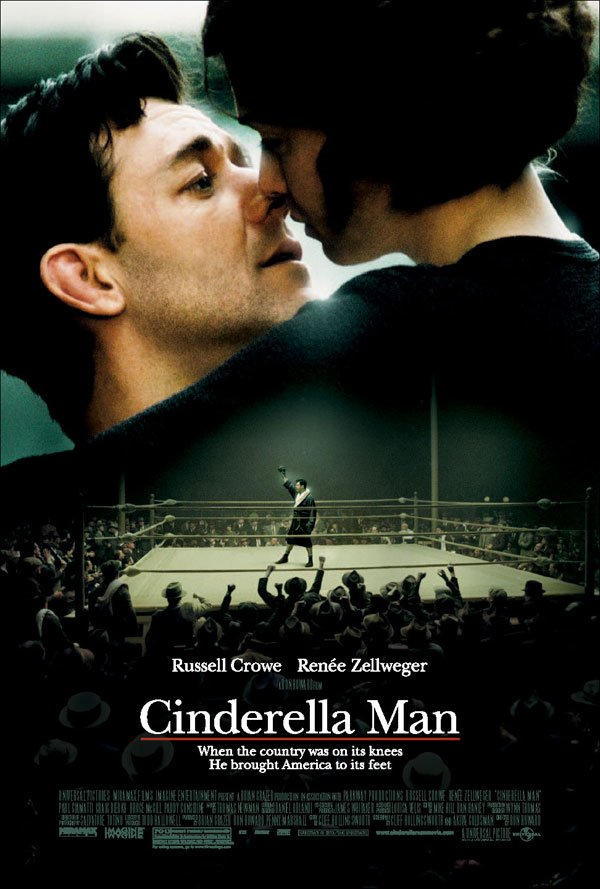 "poster for ""Cinderella Man&quot"