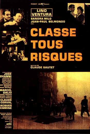 "poster for ""Classe tous risques&quot"