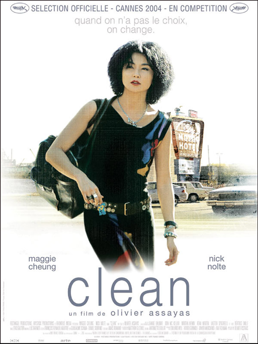 "poster for ""Clean"" by Olivier Assayas(2004)"