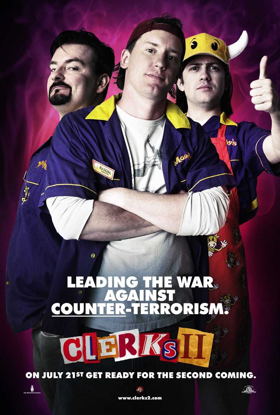 "poster for ""Clerks II"" by Kevin Smith (2006)"