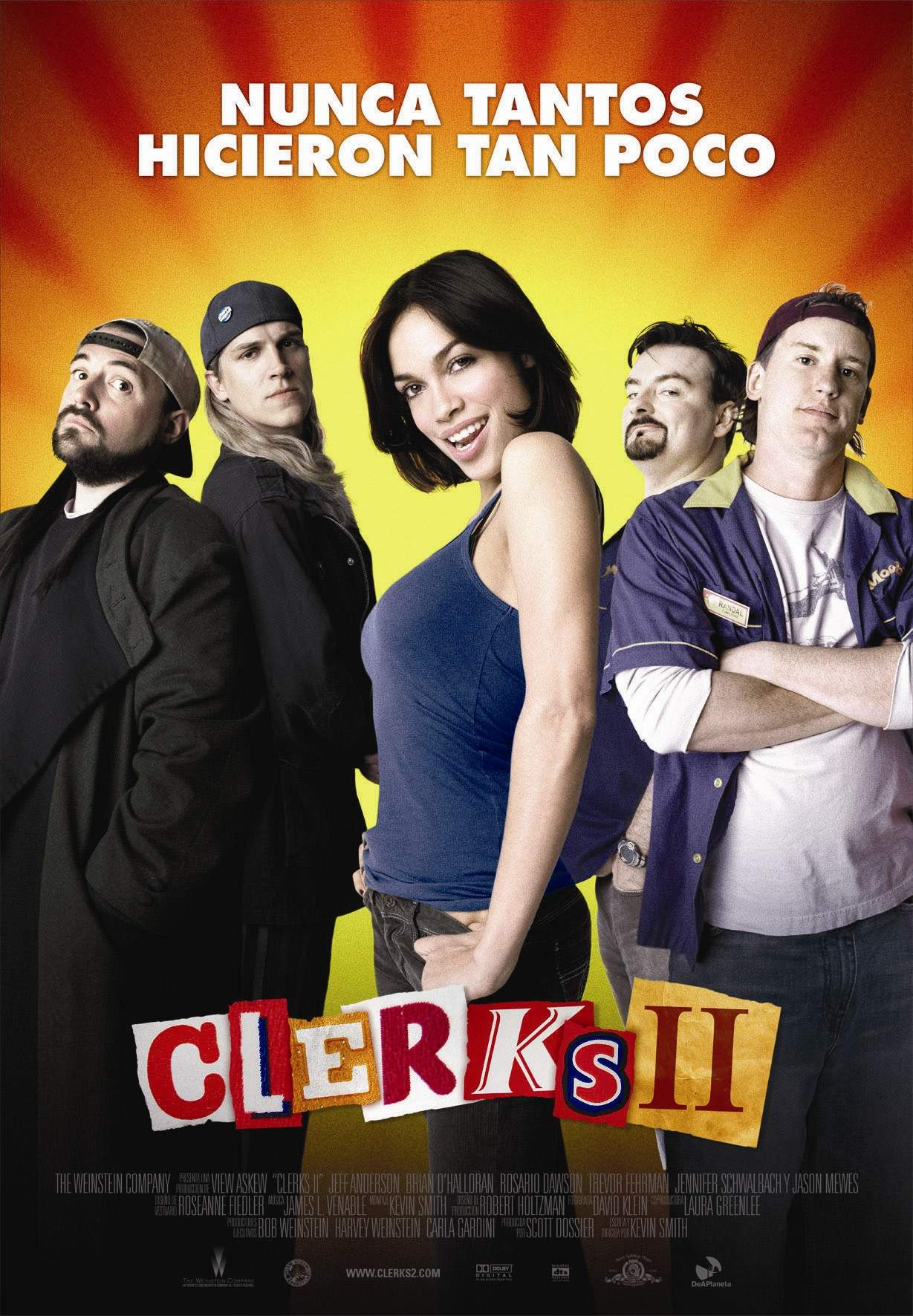 "poster for ""Clerks II&quot"
