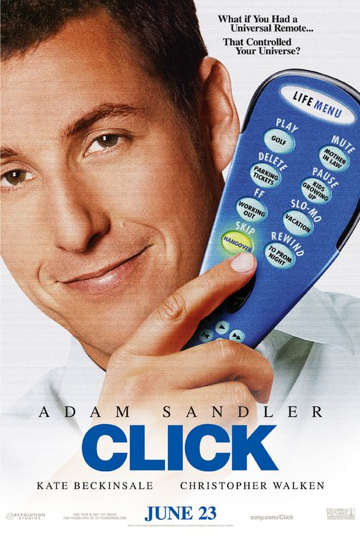 "poster for ""Click"" by Frank Coraci (2006)"