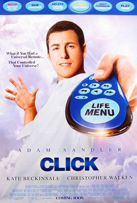 "poster for ""Click&quot"