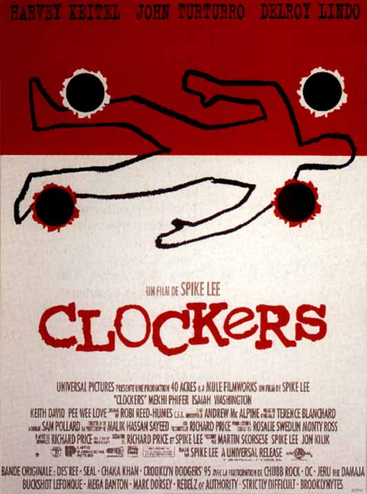 "poster for ""Clockers"" by Spike Lee (1995)"