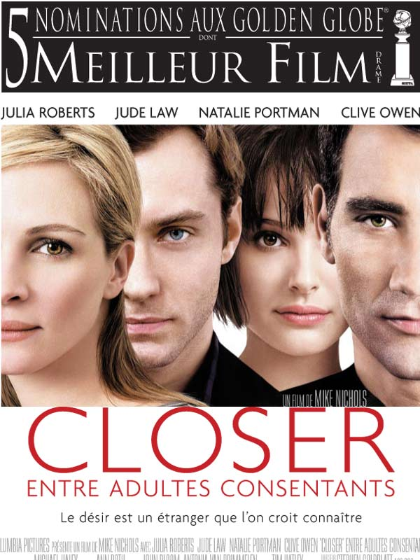 "poster for ""Closer&quot"