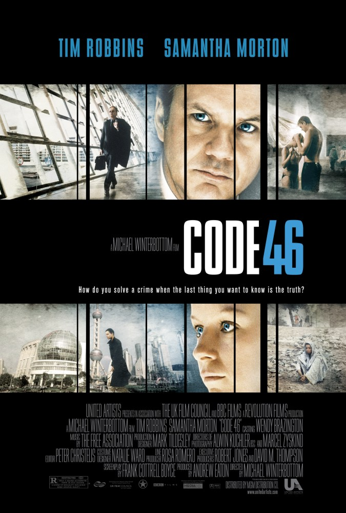 "poster for ""Code 46"" by Michael Winterbottom (2003)"