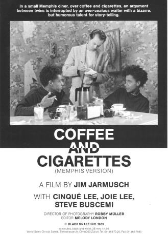"poster for ""Coffee and Cigarettes III&quot"