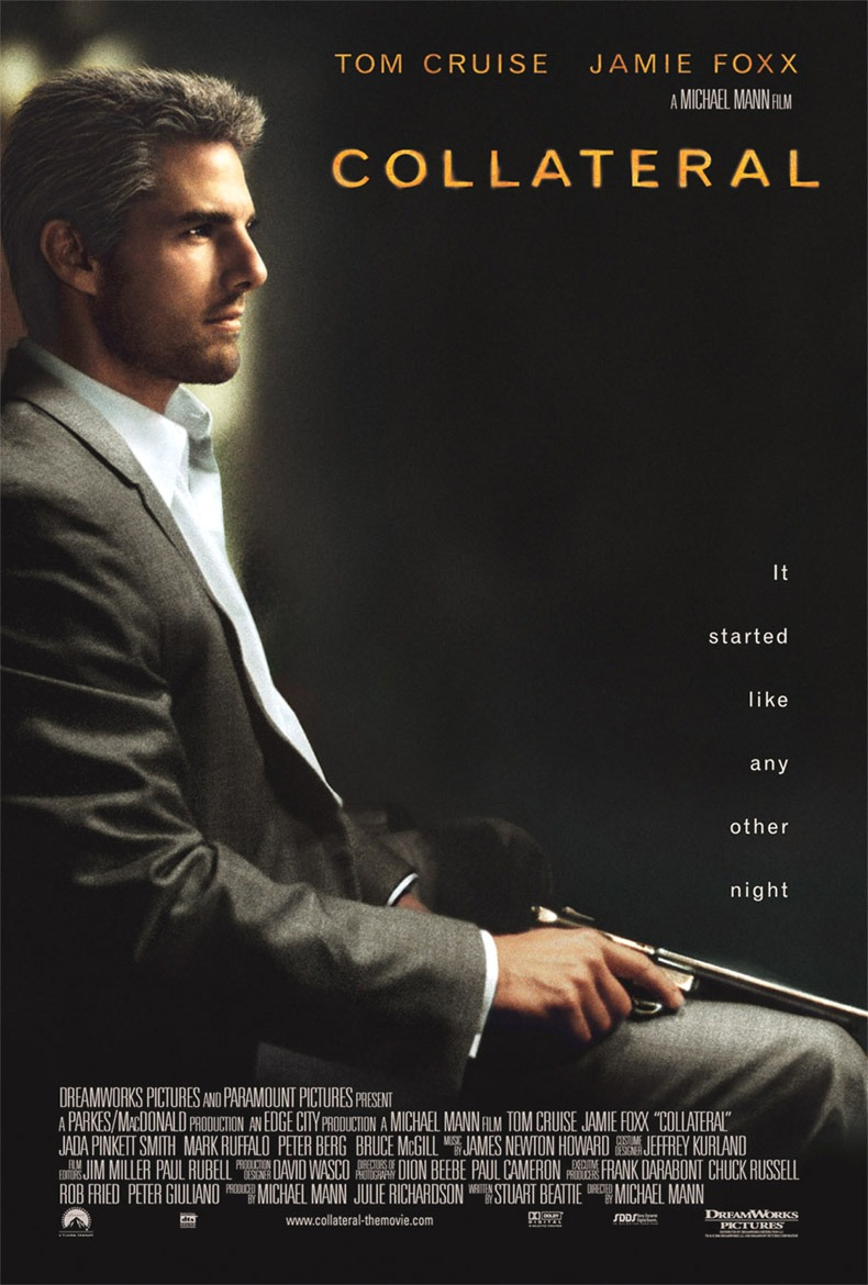 "poster for ""Collateral"" by Michael Mann(2004)"