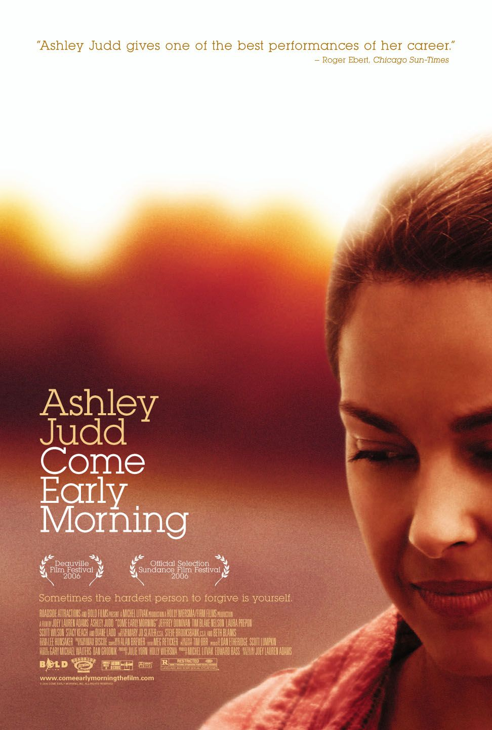 "poster for ""Come Early Morning"" by Joey Lauren Adams(2006)"