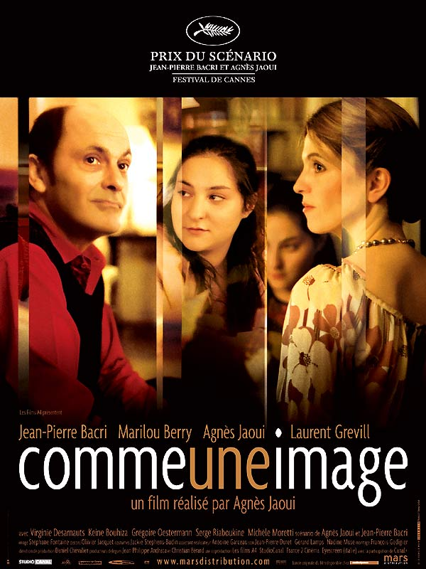 "poster for ""Comme une image"" by Agn�s Jaoui (2004)"