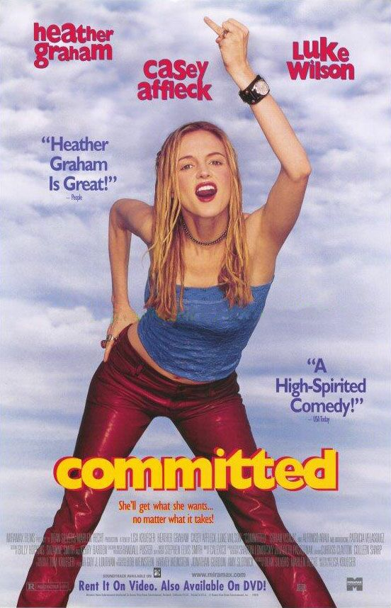 "poster for ""Committed"" by Lisa Krueger(2000)"