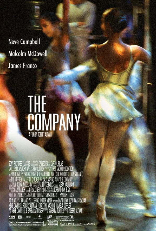 "poster for ""Company, The"" by Robert Altman (2003)"