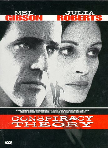 "poster for ""Conspiracy theory&quot"