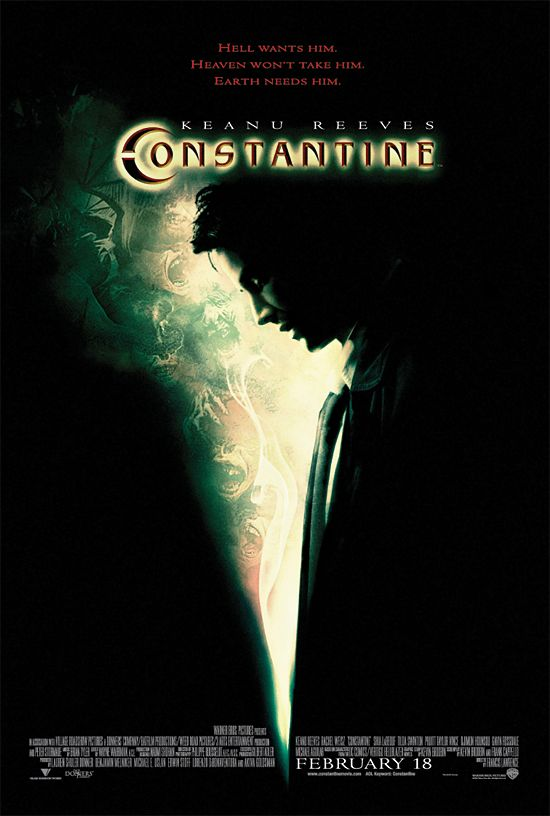"poster for ""Constantine"" by Francis Lawrence(2005)"