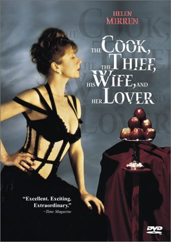 "poster for ""Cook The Thief His Wife and Her Lover, The&quot"