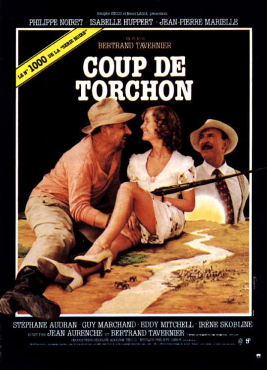 "poster for ""Coup de torchon"" by Bertrand Tavernier (1981)"