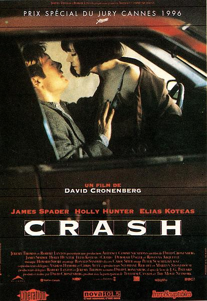 "poster for ""Crash"" by David Cronenberg(1996)"