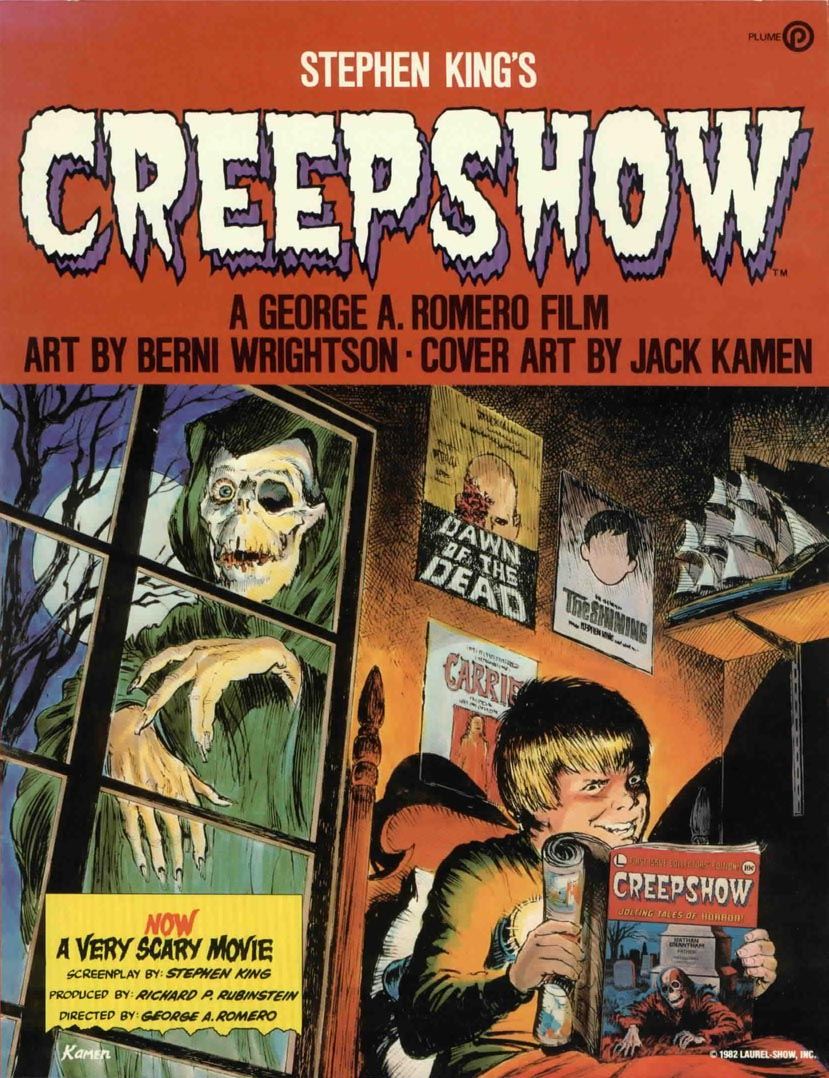"poster for ""Creepshow"" by George A. Romero(1982)"