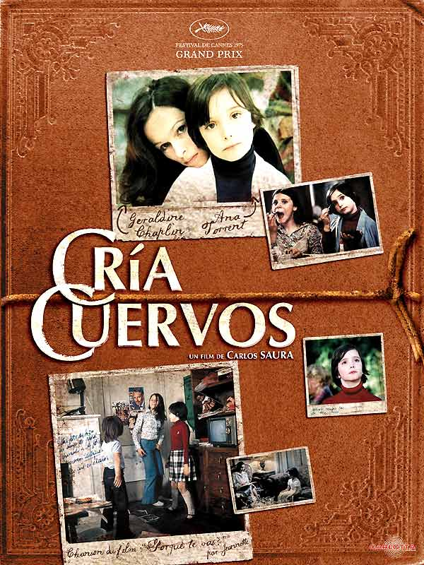 "poster for ""Cria Cuervos&quot"