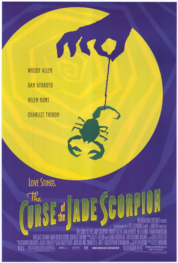 "poster for ""Curse of the Jade Scorpion, The"" by Woody Allen(2001)"