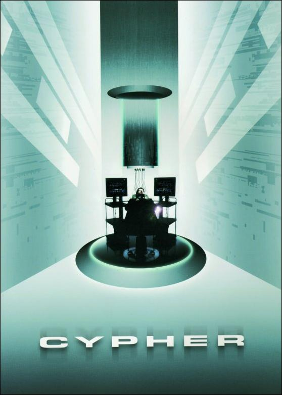 "poster for ""Cypher"""
