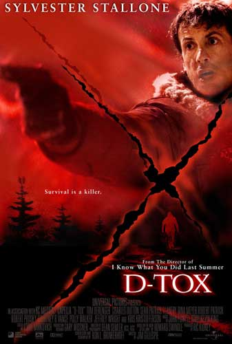 "poster for ""D-Tox"" by Jim Gillespie (2002)"