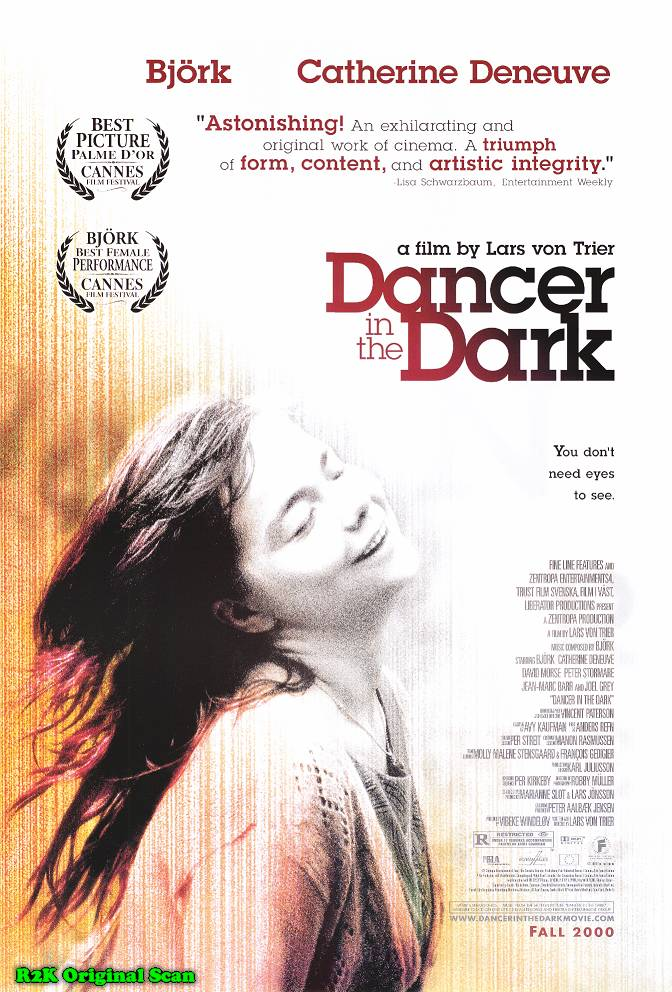 "poster for ""Dancer In The Dark"" by Lars von Trier (2000)"