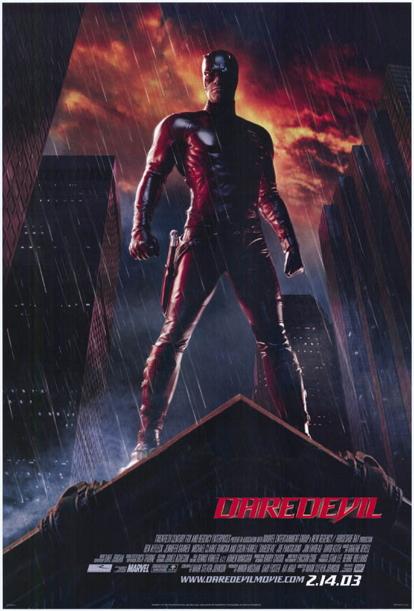 "poster for ""Daredevil&quot"