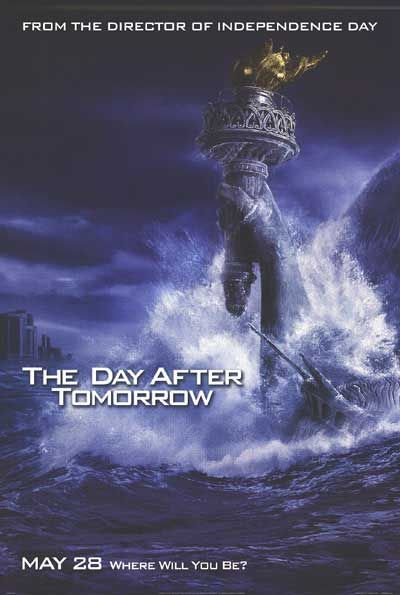 "poster for ""Day after Tomorrow, The&quot"