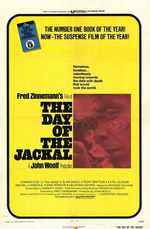 "poster for ""Day of the Jackal, The"" by Fred Zinnemann(1973)"