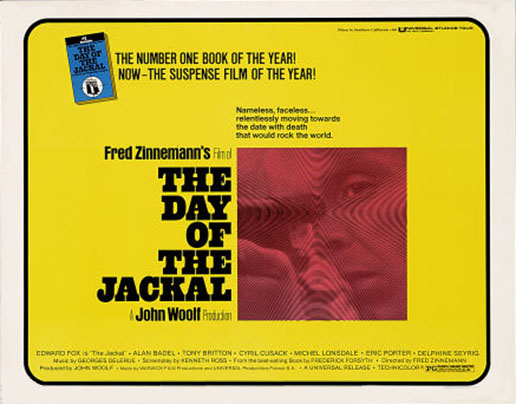 "poster for ""Day of the Jackal, The&quot"