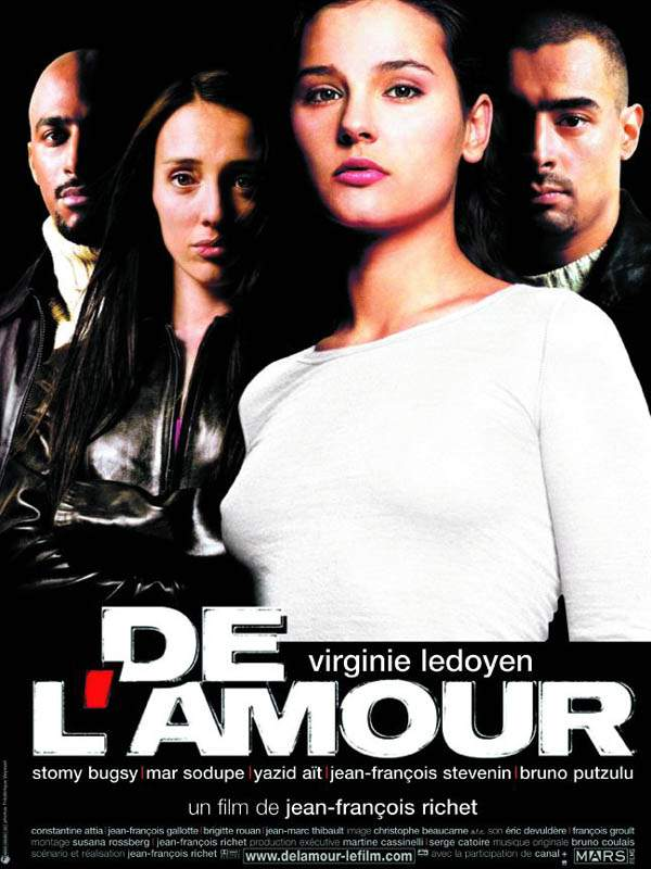 "poster for ""De L'Amour"" by Jean-Fran�ois Richet(2001)"