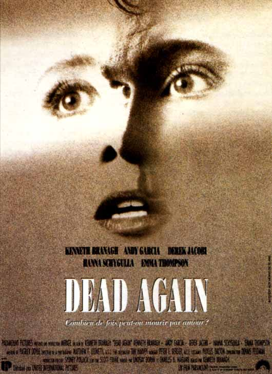 "poster for ""Dead Again"" by Kenneth Branagh(1991)"