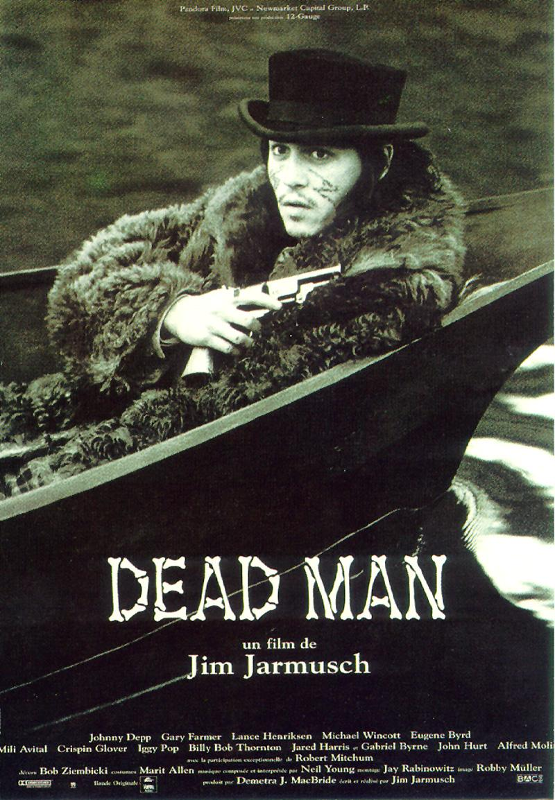 "poster for ""Dead Man"" by Jim Jarmusch (1995)"