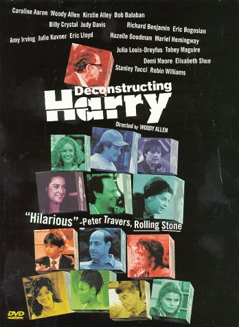 "poster for ""Deconstructing Harry&quot"